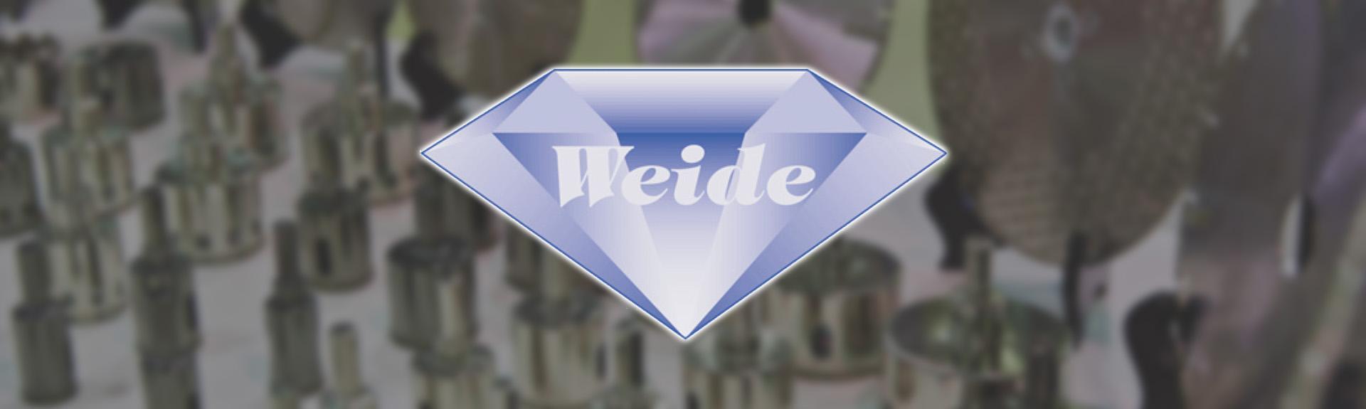 Weide diamantværktøj banner